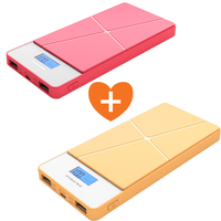 MYCANDY POWER BANK 8000MAH PB05 - COMBO DEAL - RED & YELLOW
