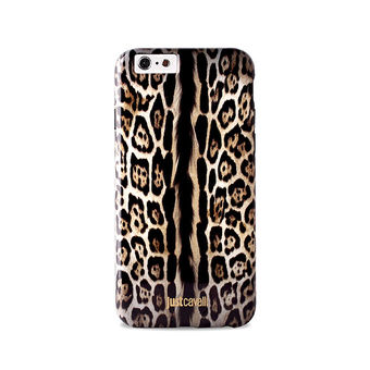 JUST CAVALLI IPHONE 6 4.7  ANTISHOCK COVER  LEOPARD ,  single