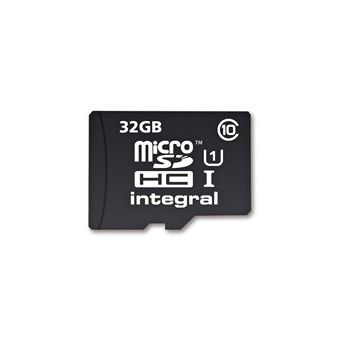 INTEGRAL MICRO SD CARD 32GB+ 64GB,  black