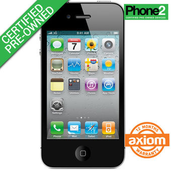 APPLE IPHONE 4S 16GB (Certified Like-New),  black