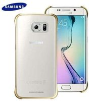 SAMSUNG GALAXY S6 EDGE CLEAR COVER,  gold