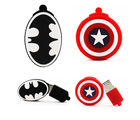 Shopizone 32 GB Pendrives USB 2.0 Batman+ Marvel Avengers Caption America Storage Flashdrive, 32 gb
