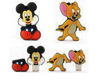 Shopizone 32 GB Pendrives USB 2.0 Mickey Mouse+ Jerry Storage Flashdrive, 32 gb