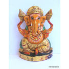 Craftsgallery Ganesha statue Painted 5 Inch, 5 inches
