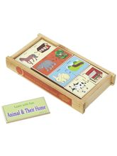 Little Genius Wooden Animal And Their Home