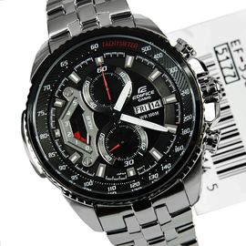 100% Authentic NEW Imported Casio EF558D-1AV Men's Edifice Stainless Steel Sport Chronograph Watch