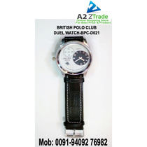 British Polo Club Dual Watch, For Ladies And Gent's  BPC D021, Seen On TV,