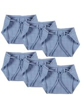 Advance Baby Nappy - Blue (Pack Of 6) - Mini