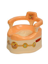 Easy To Clean Baby Potty ORANGE