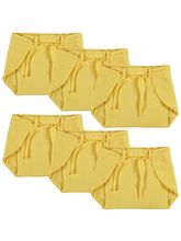 Advance Baby Nappy - Yellow (Pack Of 6) - Small