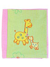 Advance Baby Flower Print Fleece Blanket - Pink