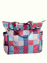 Beautiful Patchwork Printed Waterproof Diaper Bag