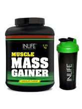 INLIFE Mass Gainer Protein Powder 5 Lbs Chocolate ...