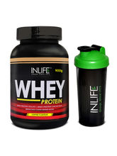 INLIFE Whey Protein Powder 2 Lbs (Coffee Flavour) ...