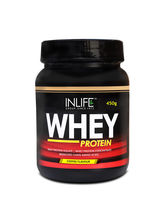 INLIFE Whey Protein Powder 1 Lbs(Coffee Flavour) B...
