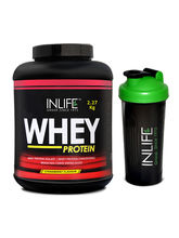 INLIFE Whey Protein Powder 5 Lbs (Strawberry Flavo...