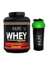 INLIFE Whey Protein Powder 5 Lbs (Cookie And Cream...
