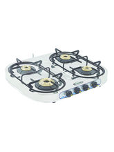 Sunshine Skytech Four Burner Stainless Steel Cook Top, Png, Manual