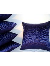 Blue Cushion Covers Set Of 5 Pc KF6020