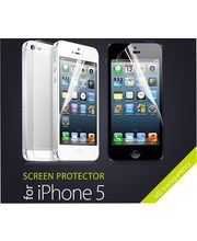 5 Pairs Of Front & Back Clear Screen Guards With HD Transparency For IPhone 5