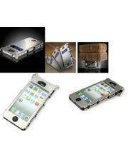 Explosion Proof Case For IPhone 5/5S In Silver