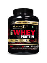 MuscleXP 100% Whey Protein - 2Kg (4.4 Lbs) , Doubl...