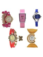 Shree Shopee Women Multi Fashion Analog Watch - Co...