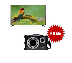 OLAS-81cms HD LED TV With Free Gujtron Bluetooth S...