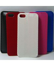 High Quality Plastic Mesh Case For IPhone 5, Pink