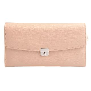 Thayla Elegant Casual Leather Wallet, Beige