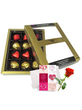 Mellow Treat Of Wrapped Chocolates With Love Card ...
