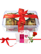 Best Combination Of Wrapped Truffles With Love Car...