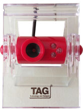 TAG Webcam 8MP Finepix, Red