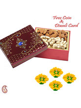 Aapno Rajasthan Cashew And Almonds Gift Box For Di...