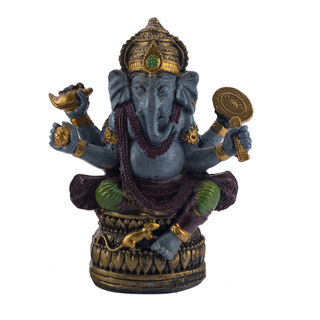 Aapno Rajasthan Multicolor Antique Finish Ganesha ...