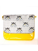 Lil Pooches Messenger Bag (Grey And Sunshine), Gre...