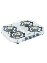 Sunshine Eco All Four Burner Stainless Steel Cook Top, Lpg, Manual
