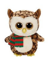 Jungly World-WISE-owl With Scarf Reg