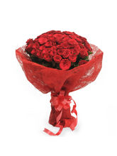 Ferns N Petals Fathers Day - Roses In Jute Packing...