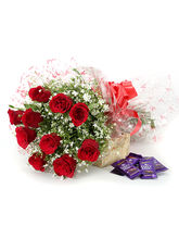 Ferns N Petals Our Sweet Love - Rose Day