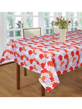 Smart Home 100% Cotton 6 Seater Table Cloth Cover,...