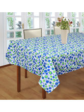 Smart Home 100% Cotton Floral Textile 6 Seater Tab...