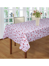 Smart Home 100% Cotton Design 6 Seater Table Cloth...