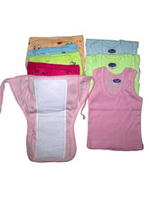 Xchildhood Baby Colour Diaper Nappy And Vest (Ch-C...