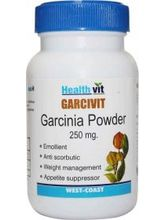 HealthVit GARCIVIT Garcinia Powder 250 Mg 60 Capsules (Pack Of 2)