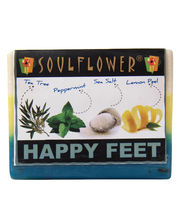Soulflower Happy Feet 100% Vegan Soap - 150 Gms