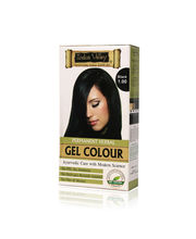 Indus Valley Permanent Herbal Colour- Black One Time Use - 35 Gm