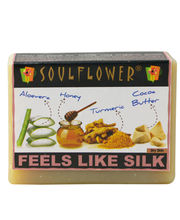 Soulflower Feels Like Silk Soap - 150 Gms