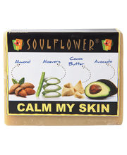 Soulflower Calm My Skin Soap - 150 Gms
