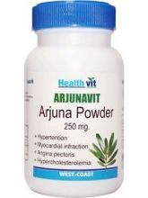 HealthVit ARJUNAVIT Arjuna Powder 250 Mg 60 Capsules (Pack Of 2)